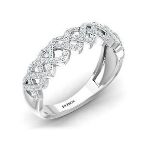 <title>送料無料 ネックレス レディースホワイトゴールドクロスhallmarked ladies 9ct white gold criss cross cz セットアップ gemstone jewelry engagement ring</title>