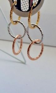 <title>送料無料 ネックレス 人気商品 9ctイエローバレオールイアリング20g bff9ct yellow white rose gold drop hoop creole earrings 20g present gift bff</title>