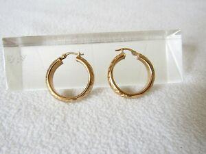 【送料無料】ネックレス ビンテージソリッドイエローゴールドラウンドデザインイヤリンググラムvintage solid large 9ct yellow gold round geometric design earrings 481 grams