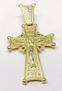 <title>送料無料 ネックレス イエローゴールドイエスキリストクロスchildrens 特価キャンペーン small 9ct yellow gold jesus christ on cross religious 1061</title>
