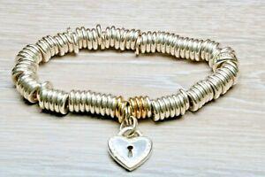 【送料無料】ネックレス ロンドンスターリングシルバーブレスレットリンクlinks of london sterling silver bracelet, hardly worn, with british hallmark