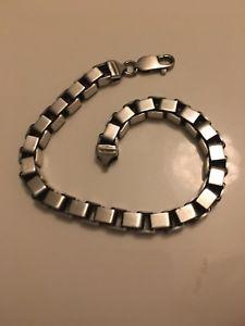 送料無料 ネックレス リンク23cms51gibbブラシheavy silver box link bracelet effect 51 ibb brushed 半額 ブランド買うならブランドオフ g 23cms