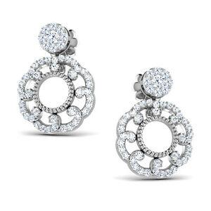 <title>送料無料 ネックレス レディースホワイトゴールドイヤリングhallmarked ladies 9ct white 高品質 gold amp; cz gemstone jewelry convertible earrings uk</title>