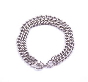 <title>送料無料 ネックレス ダブルアルバート925スターリング287g 85antique double albert bracelet graduated 925 sterling silver 287g 85 オンラインショップ</title>