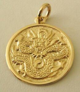 <title>送料無料 ネックレス ソリッドイエローゴールドドラゴンペンダントlarge genuine solid 9k 9ct yellow gold dragon pendant 買取</title>