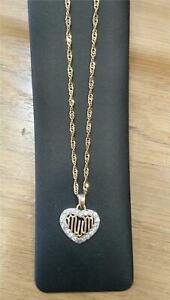 <title>送料無料 ネックレス mumペンダント9ctゴールド9ct gold chain 新商品 with mum pendant</title>