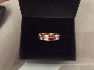 直輸入品激安 送料無料 評判 ネックレス ゴールドリングポーランドバイカラーグラムクリスマスプレゼントサイズ14k gold ring polish hallmark bi christmas size ideal grams rs colour 4 present
