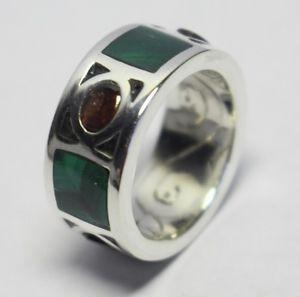 送料無料 ネックレス シルバーリングマラカイトガーネットポンドハンドメイドリングsilver オンラインショッピング 大放出セール ring malachite amp; completely in 925 handmade garnet sterling