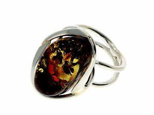 送料無料 ネックレス バルトスターリングシルバーリングcertified unique baltic amber amp; rg0583 ring sterling 925 完売 silver 入手困難