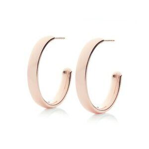 【送料無料】ネックレス モニカローズゴールドフィジーフープイヤリング¥monica vinader rose gold fiji large hoop earrings rpr150