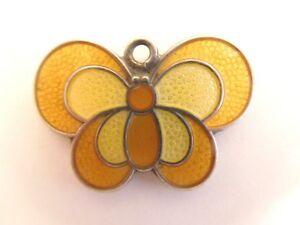<title>送料無料 ネックレス vintage norwegian david andersenyellow enamel butterflypendantcharmvintage 限定品 andersen silver yellow b</title>