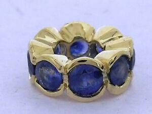 【送料無料】ネックレス bd084 genuine9ctサファイアガラスbd084 genuine 9ct solid gold natural sapphire rondelle bead