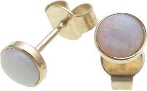 【送料無料】ネックレス イヤリングオパールゴールドイヤリングスタッドレディースイエローゴールドearrings real opal gold 585 earrings studs ladies yellow gold