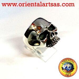 【送料無料】ネックレス シルバーリングキースリチャーズスカルリング925 silver ring ‰ skull keith richards skull ring