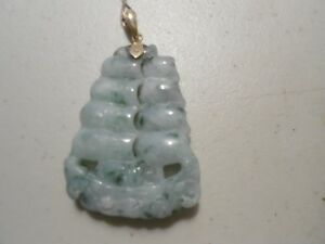 送料無料 ネックレス ペンダント14ktチェーンgreen jade sailing boat pendant 14kt goldwithout chainQdsCtxhr