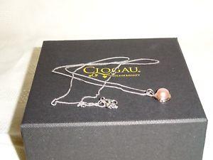 【送料無料】ネックレス スターリングシルバーローズライフパールペンダントチェーン¥ゴールドツリーclogau sterling silver amp; rose gold tree of life pearl pendant 22 chain rrp 139