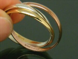 <title>送料無料 ネックレス ゴールドkローズホワイトイエローゴールドロシアリングサイズ9ct gold 9k rose white yellow russian wedding hallmarked ring size p 好評受付中</title>