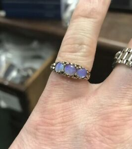 <title>送料無料 ネックレス ゴールドオパールリングvery nice 9ct gold unusual マート colour three stone opal ring</title>