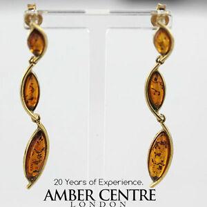 送料無料 ネックレス イタリアユニークドイツバルト9ctイアリングge0100 rrp280italian made ☆正規品新品未使用品 unique german 特別セール品 baltic rrp280 drop 9ct amber earrings gold ge0100