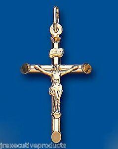 <title>大決算セール 送料無料 ネックレス ゴールドペンダントイエローゴールドクロスペンダントgold crucifix pendant yellow gold cross</title>