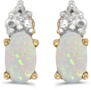 <title>送料無料 ネックレス イエローゴールドオパールイヤリング14k yellow gold oval 授与 opal earrings</title>