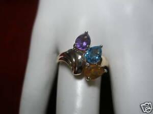 【送料無料】ネックレス リング14kt genuine gemstones ring