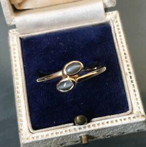 【送料無料】ネックレス ゴールドリングアパタイトサイズwomens 10ct gold ring apatite cats eye size u weight 2g stamped