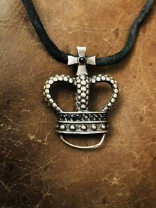 送料無料 ネックレス トマスsaboペンダントキャリアーgenuine thomas sabo crown pendant carrierLc4q5AR3j
