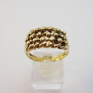 【送料無料】ネックレス ヴィンテージイエローゴールドキーパーリングサイズグラムvintage 9ct yellow gold keeper ring size s12 66 grams