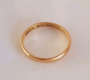 送料無料 ネックレス エリザベスll 22ctイェローゴールドplainformlondon 1953elizabeth ll 22ct yellow gold wedding ring plain domed formlondon 1953