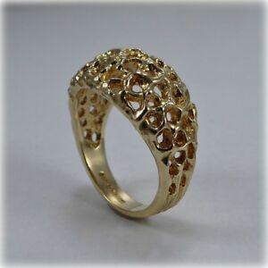 【送料無料】ネックレス 9ctリング9ct gold braided dress ring