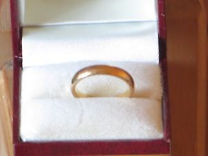 【送料無料】ネックレス 22ctサイズjブドウ4gapprox34ml22ct wedding ring size j used vintage condition 4g approx and 34ml wide