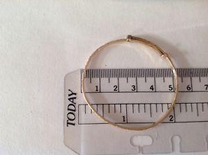【送料無料】ネックレス ブレスレットイエローゴールドchilds christening bracelet 14ct yellow gold 52 gms pre owned
