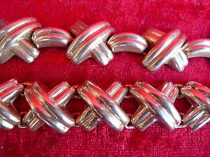 【送料無料】ネックレス セット__チェーンbracelet__925スターリングsilver__mexicopretty, old jewelry set __ chain and bracelet__925 sterling silver__mexico