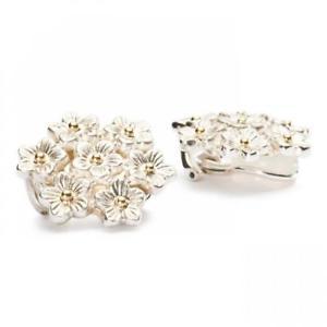 【送料無料】ネックレス シルバーイヤリングミリtrollbeads elderflowers bunch silver earrings ms56003