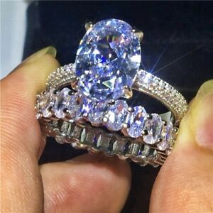 【送料無料】ネックレス 450 moissaniteリングtcw 14kオーバルカット450 tcw 14k oval cut gold over moissanite ring engagement bridal set wedding