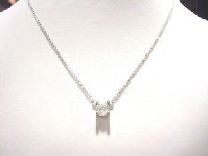 【】ネックレス チェーンホワイトゴールド18k 750000チェーンジルコニウム4041543 cm r75948chain white gold 18k 750000 mesh chain zirconium 4041543 cm r75948:hokushin