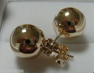 【送料無料】ネックレス kaedesignsvery large size 9ct 9k solid yellow gold14mmstud ball earringskaedesigns, very large size 9ct 9k solid yellow go