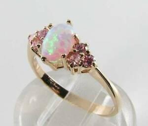 ネックレス lush 9ct 9kgold aus opal pink sapphire artdeco ins 7stone ringサイズolush 9ct 9k gold aus opal pink sapphire art deco ins 7 s