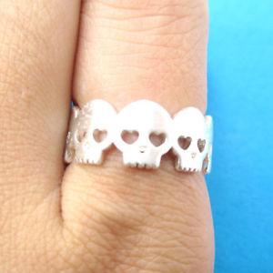 送料無料 ネックレス ハロウィーン14kイェローゴールドデザイナーリングhalloween solid 14k yellow gold fine handmade ring jewelry designer 限定価格セール skull 日本最大級の品揃え