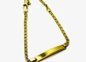 送料無料 ネックレス bracelet yellow gold (人気激安) girl 超美品再入荷品質至上 18kt boy girlbracelet