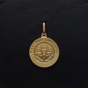送料無料 ネックレス miran 出色 081188 Seasonal Wrap入荷 18kイェローゴールド1メダル23g rrp470miran 18k yellow 470 holy rrp communion 23g gold medal first