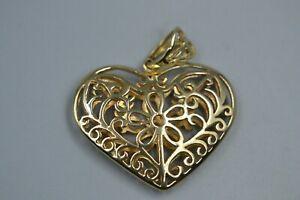 【送料無料】ネックレス 9ctペンダント9ct gold heart pendant