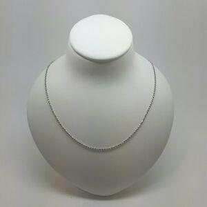 評価 送料無料 ネックレス ホワイトゴールドファンシーボールチェーンドルmiran 150395 18k 750 入手困難 white gold chain 40cm rrp 24g ball 469 fancy