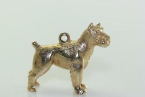 送料無料 ネックレス vintage 14kgold scottie dog charm 14k 14kt 2020 新作 amazing Seasonal Wrap入荷 14ktsolidvintage details solid gold