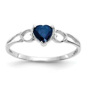 送料無料 ネックレス kホワイトゴールドサファイアリング14k white gold sapphire 豊富な品 物品 birthstone ring