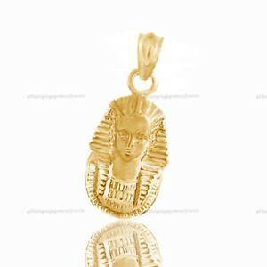 市場 送料無料 ネックレス kイエローゴールドキングペンダント 14k 美品 yellow tut king gold pendant