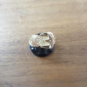 送料無料 ネックレス 9ctイェローゴールドベルト84リングg9ct yellow gold belt ring 84gf6vbgY7y