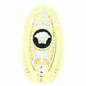 【送料無料】ネックレス ニュー14ctイェローゴールドメドゥーササイズr hollow 14ct yellow gold medusa ring size r