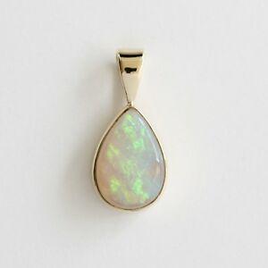 【送料無料】ネックレス natural solid 115ct light opal pendant 9ct9kyellow gold made in australianatural solid 115ct light opal pendant 9ct 9k yel